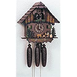 8-Day Black Forest House Cuckoo Clock