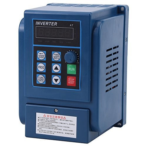 1Pc Walfront 0.75 kW VFD Drive VFD Inverter, 380V AC 3A Variable Frequency Drive Inverter, VFD Speed Controller Inverter for 3-phase Motor by Walfront