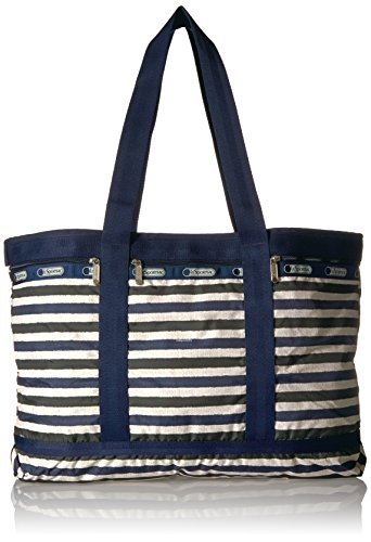 LeSportsac Classic Travel Tote, Cotton Stripe