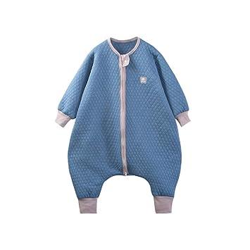 HAIMING-sleeping bag Saco De Dormir Pierna Dividida Mono De Bebe Pijamas De Bebe-Algodón Anti-Kick Edredón Hombre Bao Chunqiu Ropa De Dormir: Amazon.es: ...