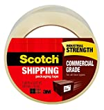 Scotch Commercial Grade Shipping Packaging Tape, 1.88 in x 54.6 yd, Case Value 48-Pack (3750-CS48)