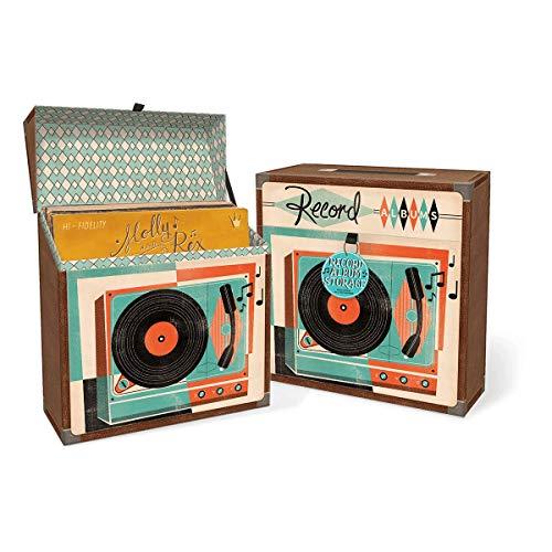 Molly & Rex Yesteryear Storage Box Record Album Yyear