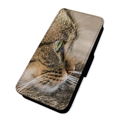 Carino gatto–Custodia ad aletta in pelle copertura di carta Apple Iphone 8