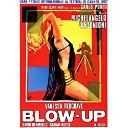 Blow Up Poster Movie Italian 11x17 David Hemmings Vanessa Redgrave Sarah Miles Jane Birkin