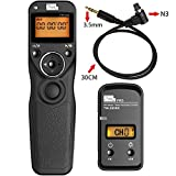 PIXEL FSK 2.4GHz Wireless Shutter Remote Release Control for Canon 7D 5D series 50D 40D 30D 10D