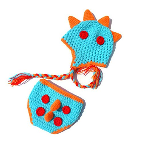 Hatched Dinosaur Crochet Baby Cocoon and Hat Set Baby Blanket Newborn Photoshoot Props Baby Shower Gift Baby Boy Baby Dinosaur