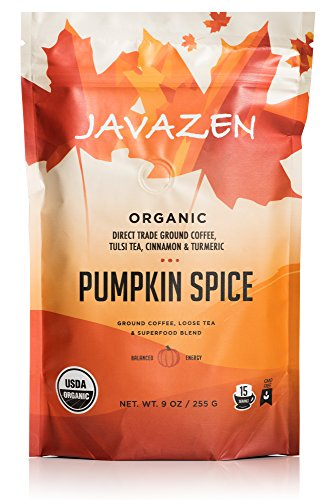 Javazen Pumpkin Spice | Organic Coffee Blended with Tulsi Te