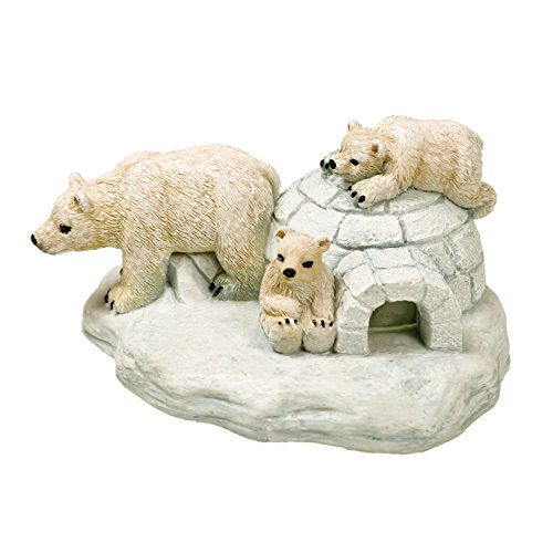 (Blue Ribbon EE-368 Polar Bear Island Exotic Environments Aquarium Ornament)