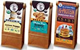 Gluten Free Good Morning Bundle - Lemon Poppy Seed Muffin Mix, Scone Mix, and Hi Protein Pancake Mix - Organic, Vegan, Non-GMO, GF, Dairy Free