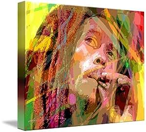 Wall Art Print entitled Bob Marley by David Lloyd Glover