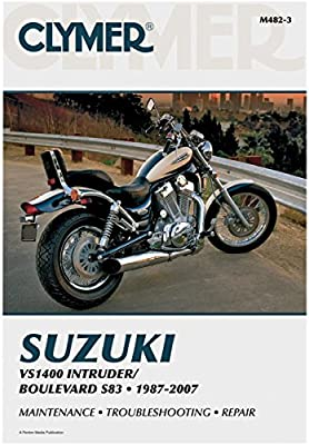 Amazon Com Clymer Repair Manual For Suzuki Vs1400 Intruder 87 07