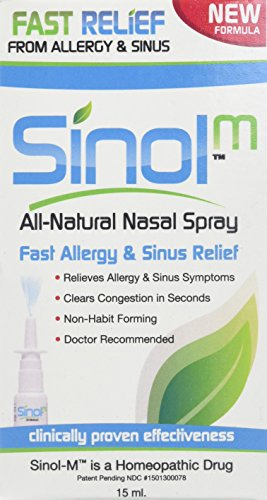 Sinol-M Allergy & Sinus Relief Spray 15 ml
