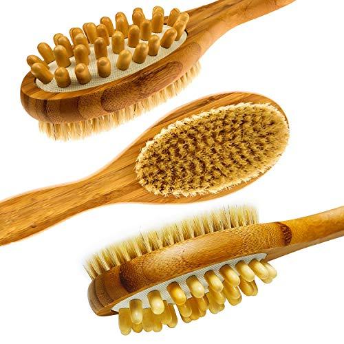 LunaBody Bamboo Body Brush