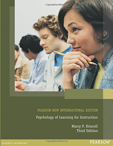 Psychology of Learning for Instruction: Pearson New International Edition