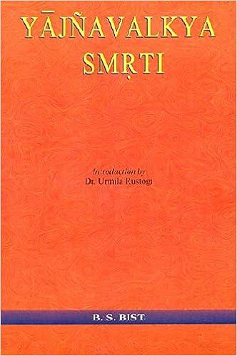 Yajnavalkya Smrti (Sanskrit Text, Transliteration and ...