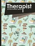 Therapist Appointment Book: 7 Columns Appointment List, Appointment Scheduling Book, Easy Appointment Book, Cute Safari Wild Animals Cover (Volume 28)
