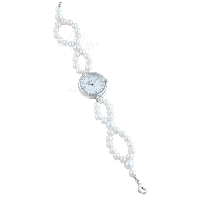 Uhr Kokichi Armband Zuchtperlen Freshwater Zifferblatt rÖmische Ziffern 295i6fm