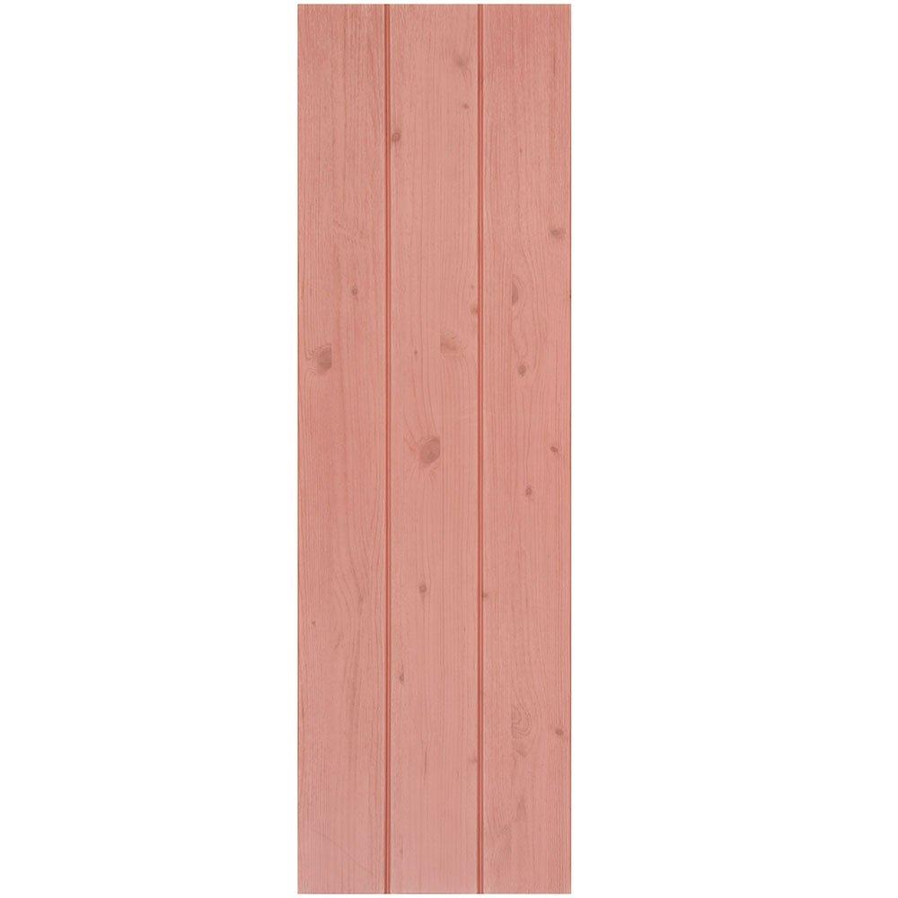 壁紙 木目 【壁紙シール3枚セット】 壁紙 木目 シール タイル 補修 クッションパネル [ピンク:(fp-315)] 30cm×100cm DIY 壁紙 シール アクセントクロス ウォールステッカー おしゃれ B06ZXRKMX2 お得3枚セット|ピンク:(fp-315) ピンク:(fp-315) お得3枚セット