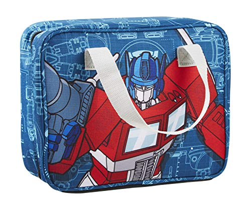 Fit & Fresh Kids Jayden Insulated Lunch Bag with Ice Pack and Full Zip Closure, Versatile School Lunch Box for Kids, - Transformers Insulated Lunch