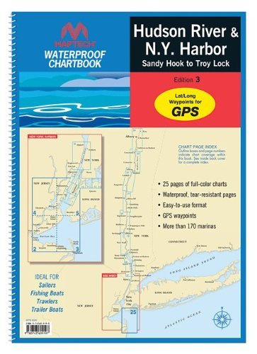 Maptech Waterproof Chartbook: Hudson River and New York Harbor by Maptech
