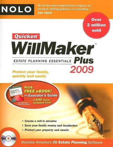 Quicken Willmaker Plus: Estate Planning Essentials [With CDROM]