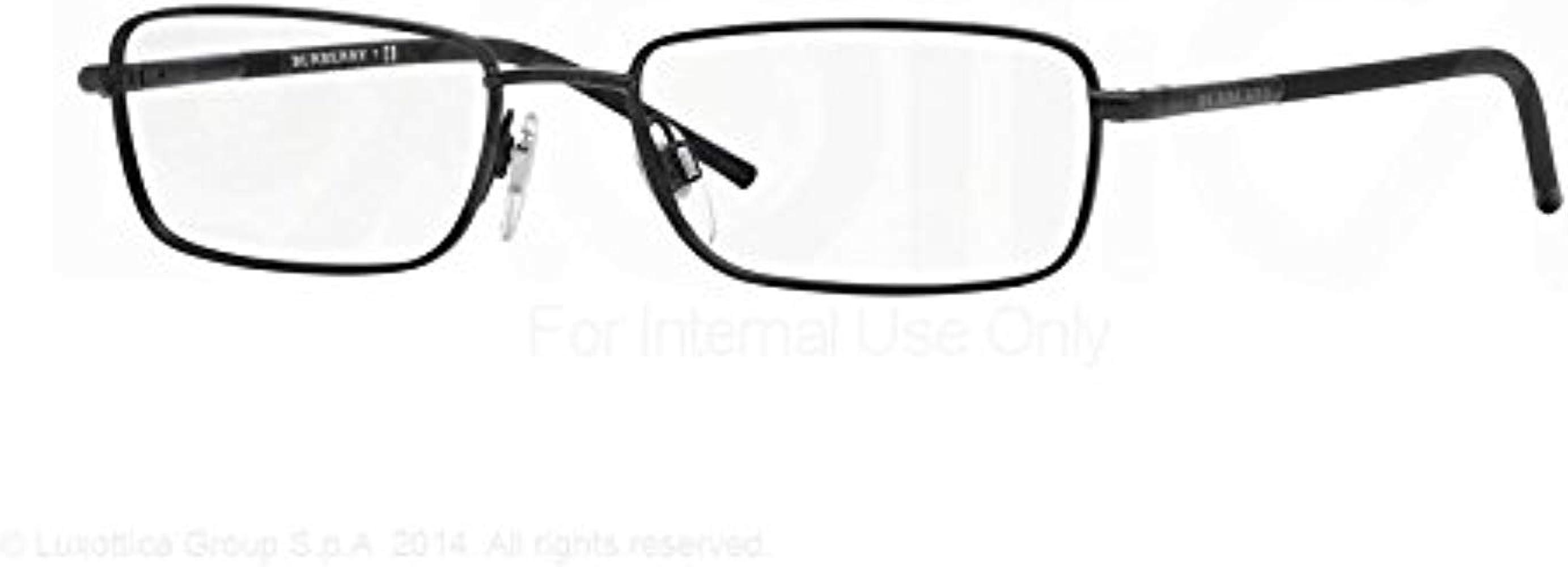 351ec1a038bb Amazon.com: Burberry Men's BE1268 Eyeglasses Matte Black 52mm: Shoes