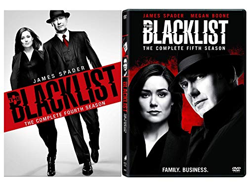 Price comparison product image The Blacklist: Complete Series Seasons 4-5 DVD