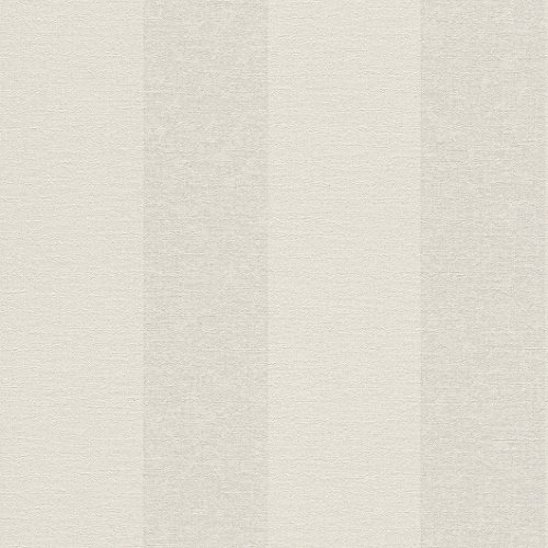 Florentine Cream (Galerie Wallcoverings Rasch Florentine 448702 Light Beige and Cream Large Stripe Wallpaper)