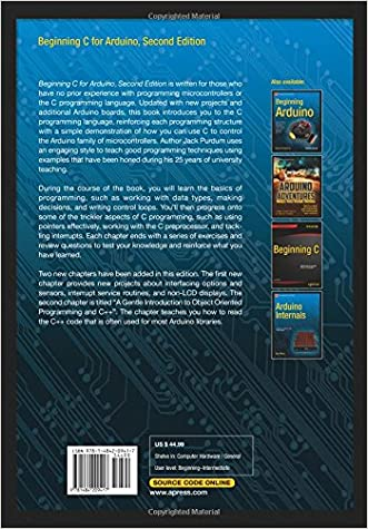 50%OFF Beginning C for Arduino, Second Edition: Learn C