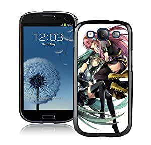 Beautiful And Durable Designed Case For Samsung Galaxy S3 I9300 With hatsune miku 2 Black Phone Case