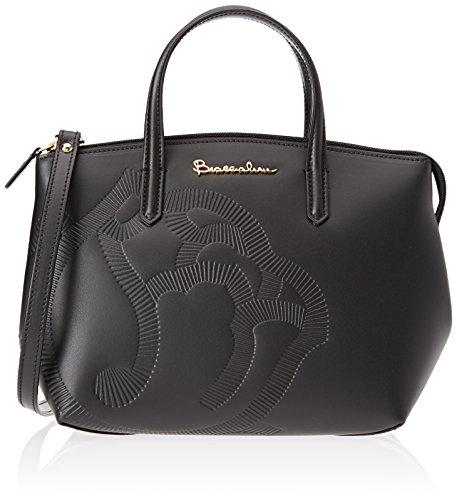 Braccialini Vanessa - Bolsos de mano Mujer Negro (Nero)