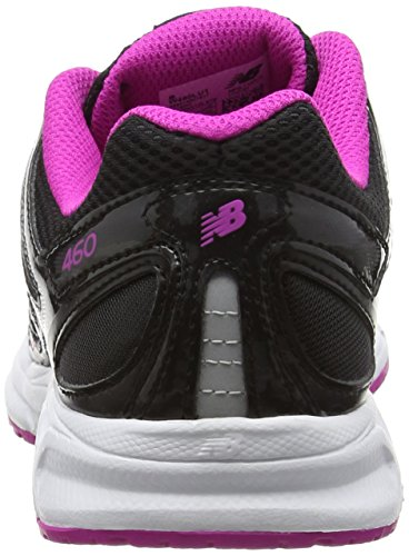 New Balance W460 Running Fitness, baskets sportives femme noir (Black/Pink)