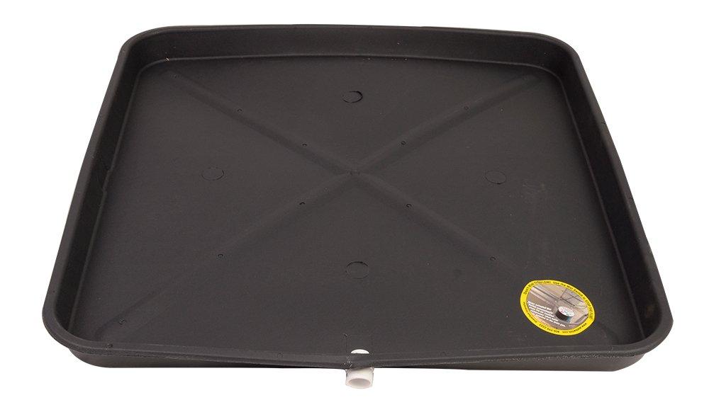DIVERSITECH 6-3030L Plastic Drain Pan, 30 X 30-Inch