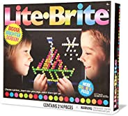 Basic Fun Lite-Brite Ultimate Classic Retro Toy, Gift for Girls and Boys, Ages 4+, Multicolor