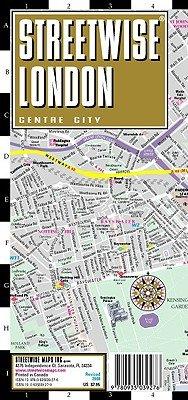 Streetwise London Map - Laminated City Street Map of London, England: Folding Pocket Size Travel Map [MAP-STREETWISE LONDON MAP-2008]