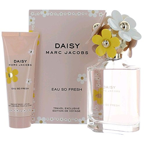 MARC JACOBS Daisy Eau de Toilette Spray So Fresh Gift Set, 4.2 Fluid Ounce