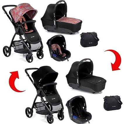 Cochecito para bebé Trio Be Cool Slide 3 Cocoon Zero reversible, Ethnic vs Black
