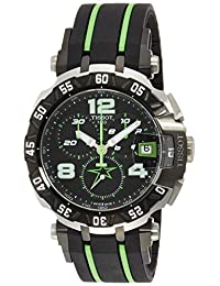 Tissot Men's T0924172705701 T-Race Analog Display Swiss Quartz Multi-Color Watch