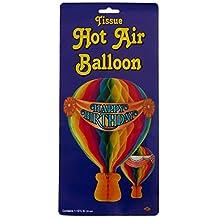 Beistle 55533 Hot Air Balloon Tissue , 131/2-Inch