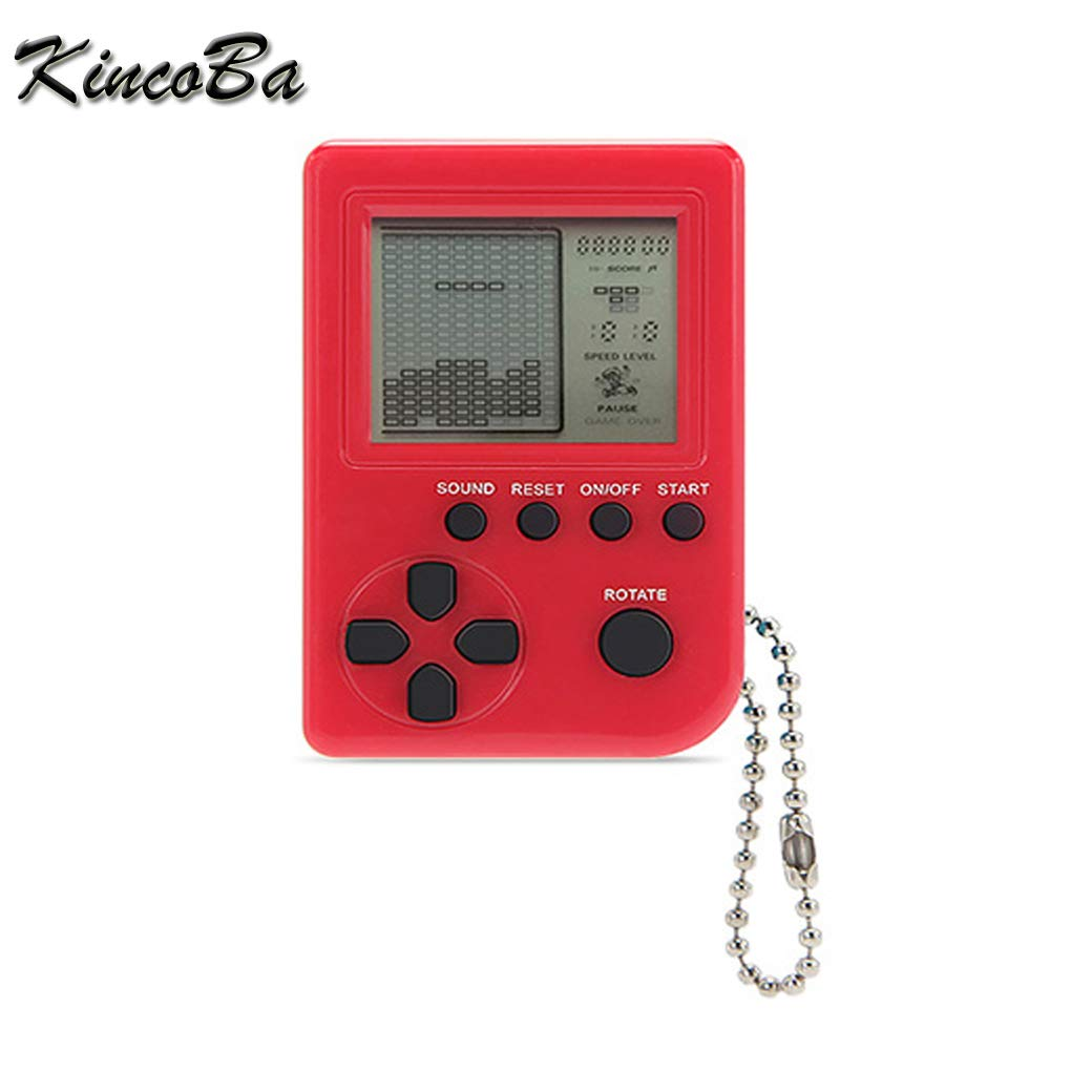 Amazon.com: KincoBa Mini Keychain Pendant Game Tetris Game ...