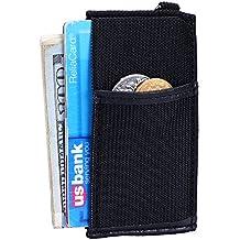 Minimalist Wallet Unique Thin Mens Front Pocket Wallet Small Credit Card Holder