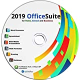 2019 Office Suite CD for Home Student Professionals and Business, Compatible with Microsoft Office for Windows 10 8 7 powered by Apache OpenOfficeTM