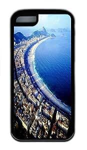Copacabana Beach TPU Case Cover for iPhone 5C and iPhone 5C Black