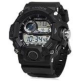 ELEOPTION® Fashion Multi Function Men Sport LED Waterproof Quartz Bracelet Digital Wrist Watch
