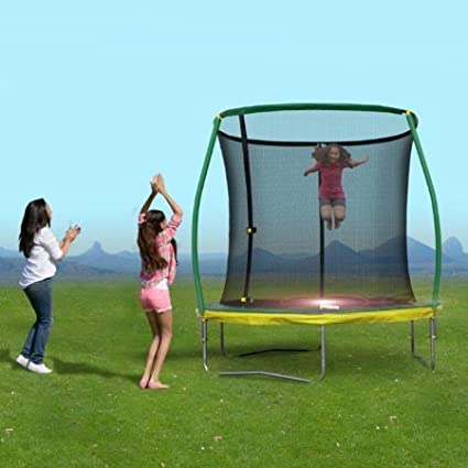 Amazon Jumpking 14 Trampoline Combo For Kids And Adults With