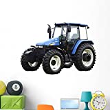 Wallmonkeys Tractor Wall Decal Peel and Stick Graphic (48 in W x 36 in H) WM11717