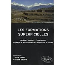 Formations Superficielles Genese Typologie Classification Paysage
