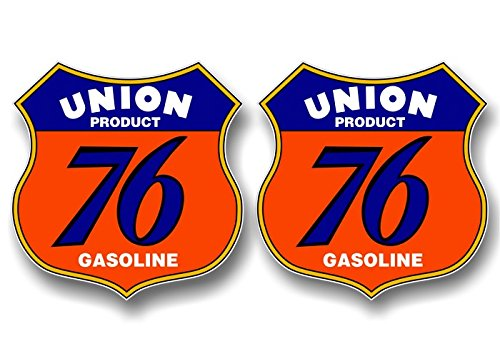 2 Vintage UNION 76 GASOLINE 4