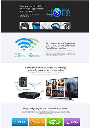 HiMedia Q10 PRO 4K 3D H 265 Network Ultra HD Android TV Box