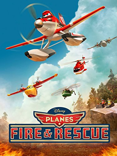 Planes: Fire & Rescue (plus bonus features) by